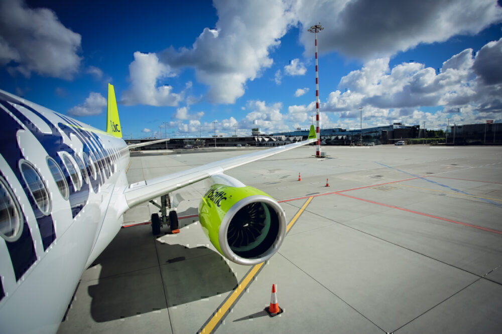 airBaltic, Airbus A220, youngest fleet