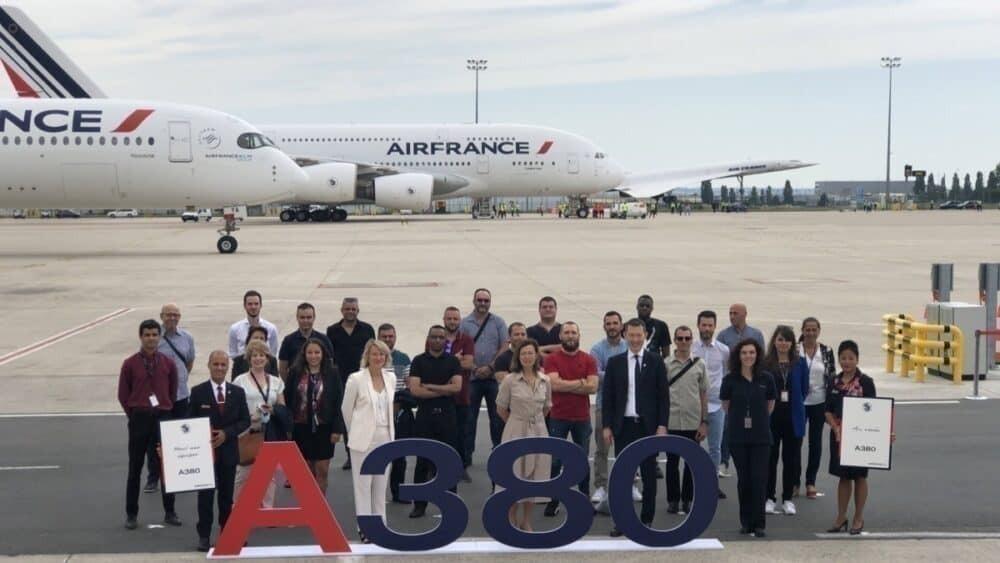 Air France, Airbus A380, Final Flight