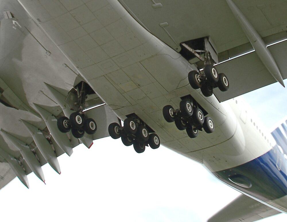 A380 landing gear