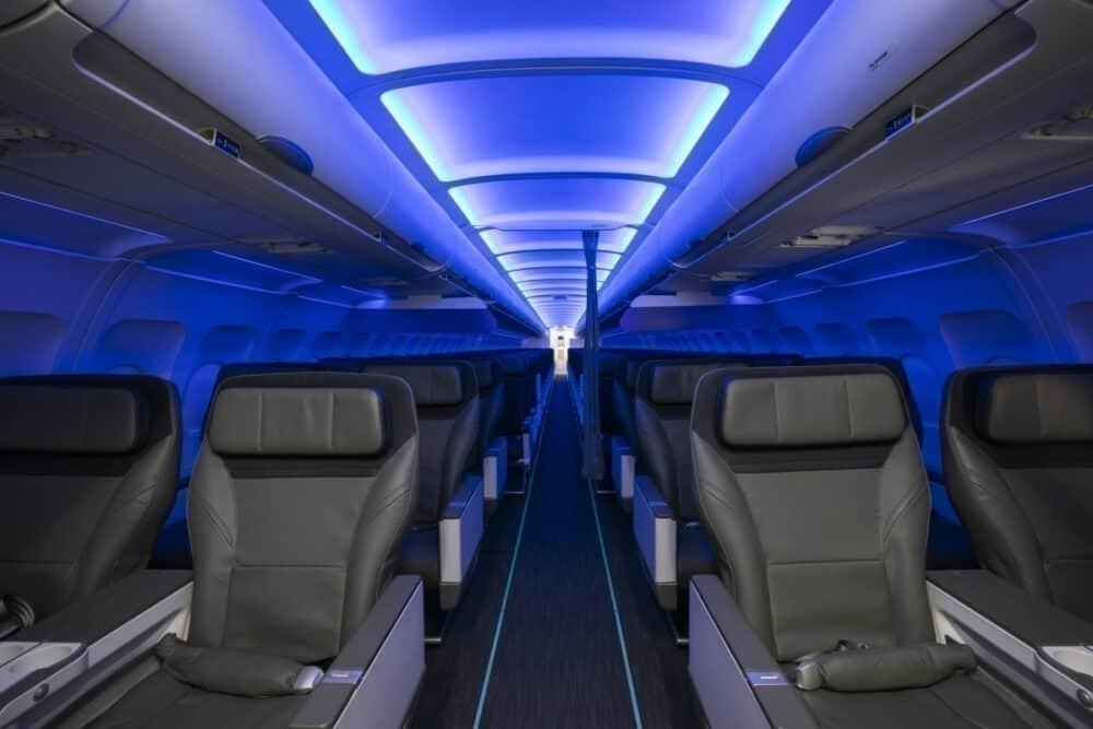 A320 interior