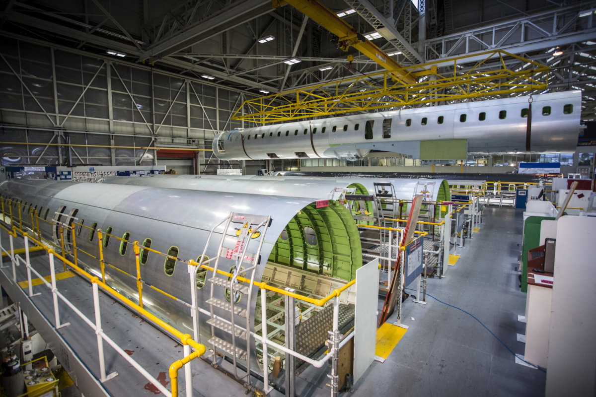 Bombardier manufacturing facility
