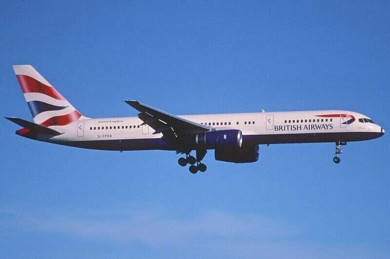 757 British Airways Chatham Dockyard