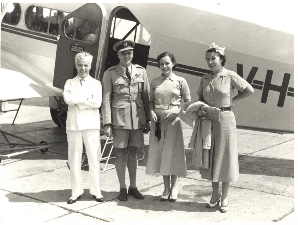 Qantas historical uniforms