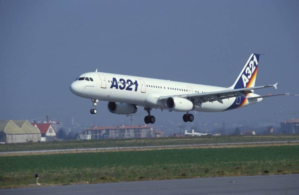 Airbus A321 test