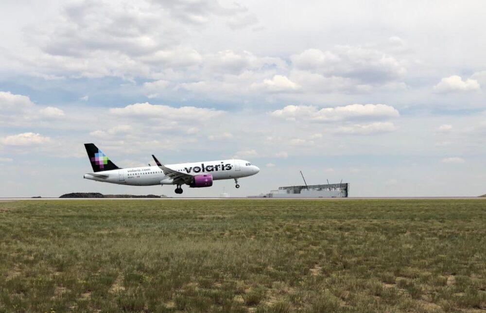 Volaris arrival