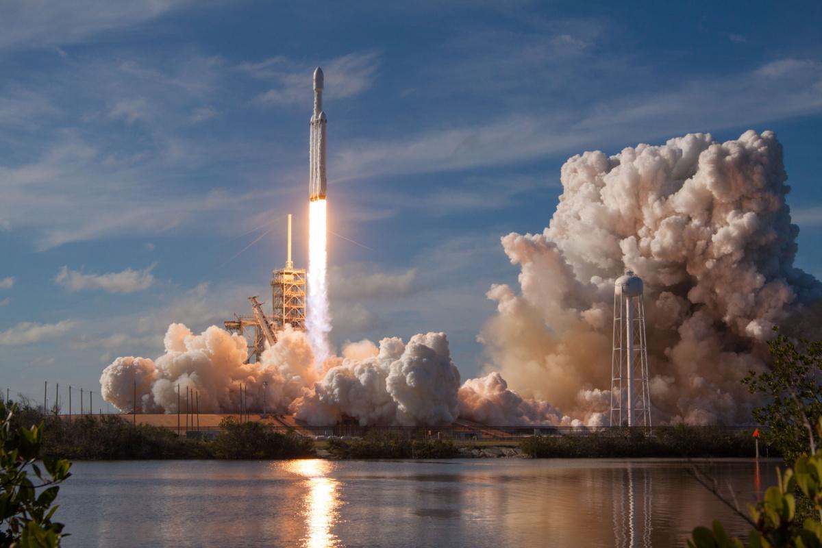 SpaceX Falcon Heavey