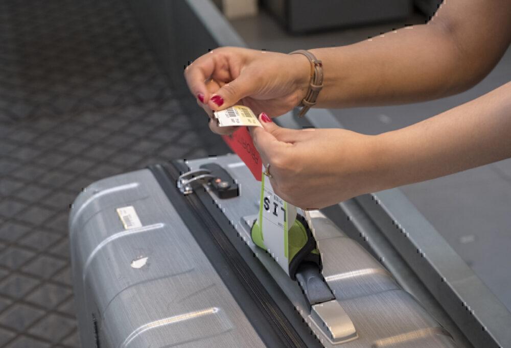 Luggage tag, Barcelona