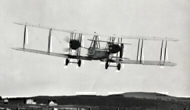 Alcock and Brown's Vickers Vimy biplane getty