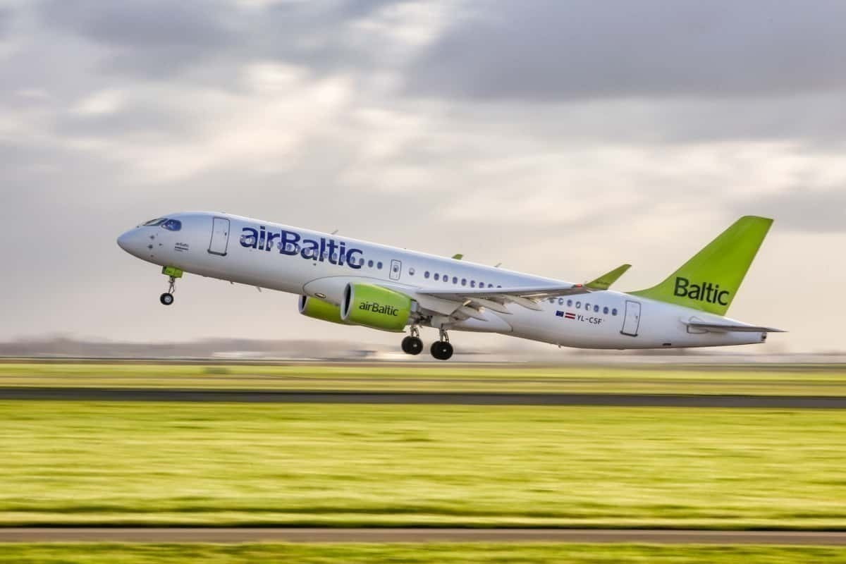 airBaltic Takes Its 23rd Airbus A220-300