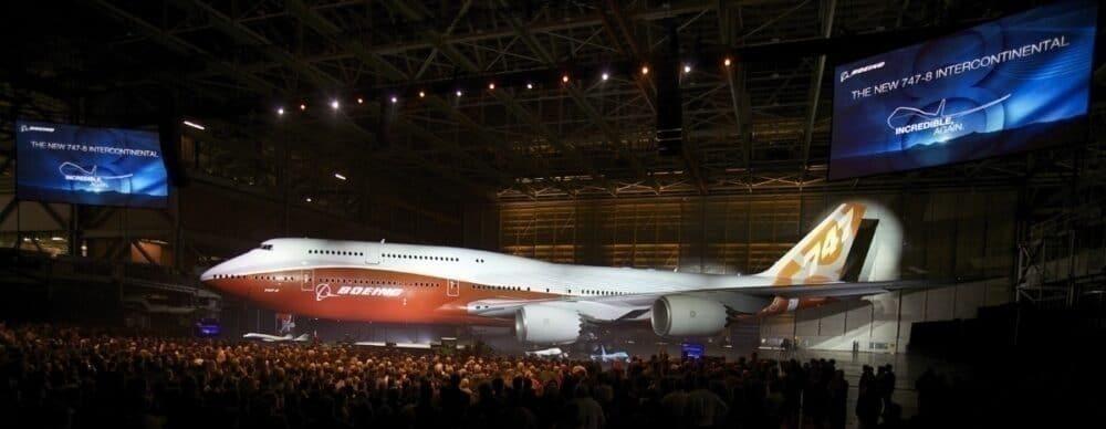 747-8 launch