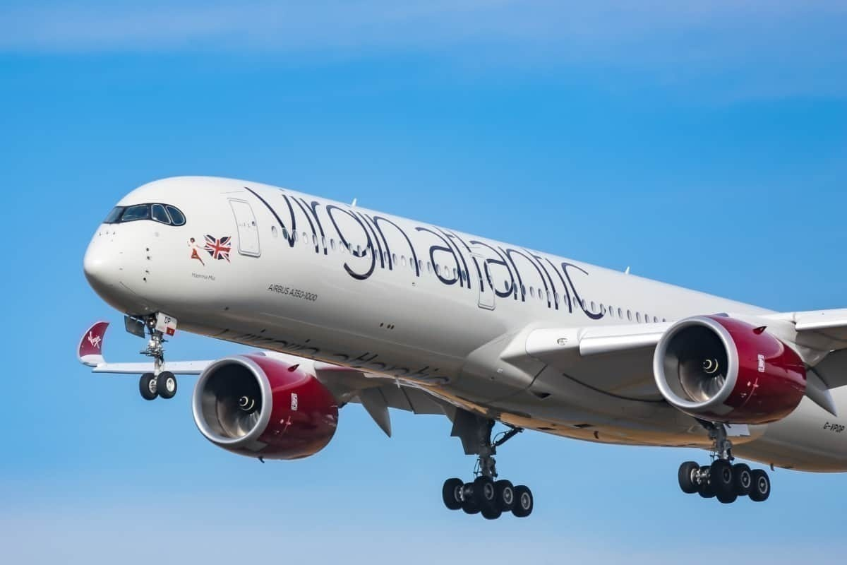 Virgin Atlantic Set To Receive Another Airbus A350 Today