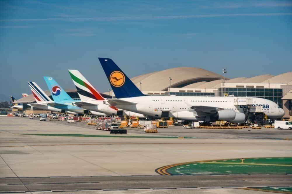 Aircraft at LAX