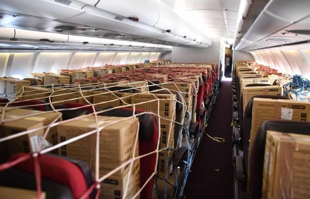 Passenger cabin cargo