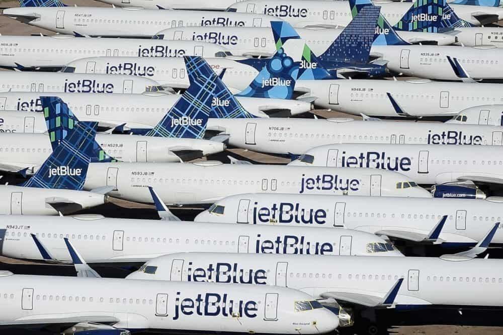 JetBlue, Bookings, TSA Passengers