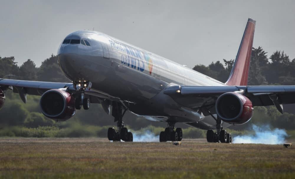 Airbus A340, COVID, Death