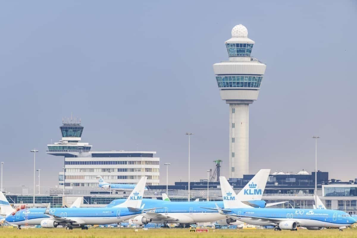 Schiphol Airport Amsterdam Getty