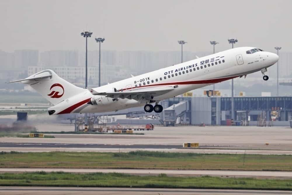 OTT ARJ21 China Eastern