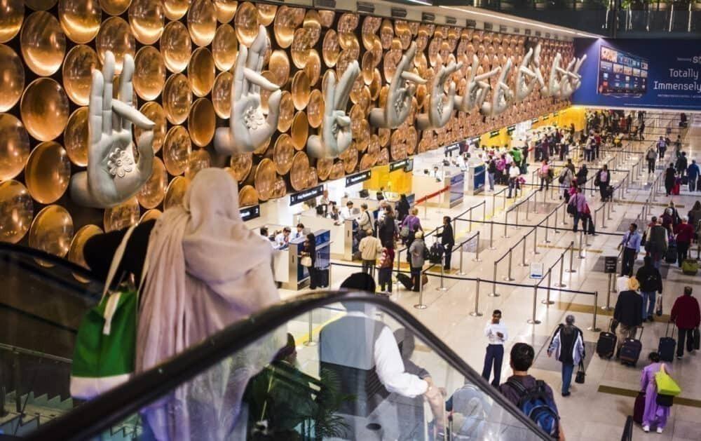 Delhi Airport Arrival