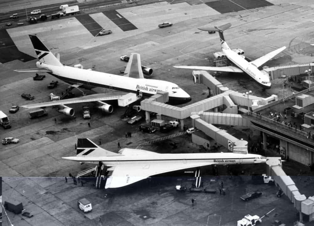 British Airways, Boeing 747, History