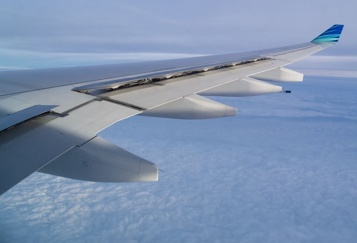 Airbus A330 wing spoiler