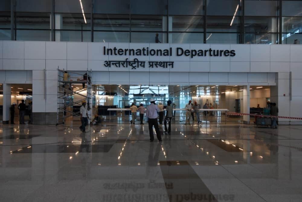 Delhi Airport Departure