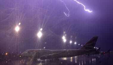Lightning BA Plane