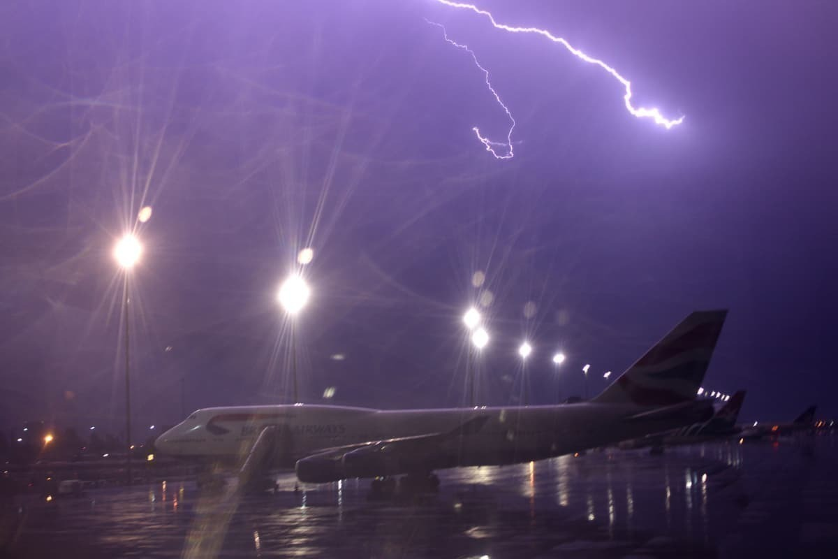 What Happens When Lightning Hits An Aircraft?