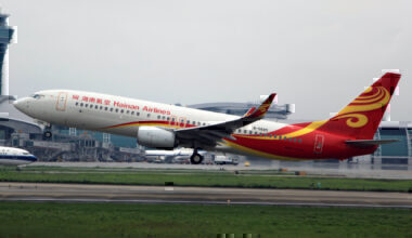 Hainan Airlines 737