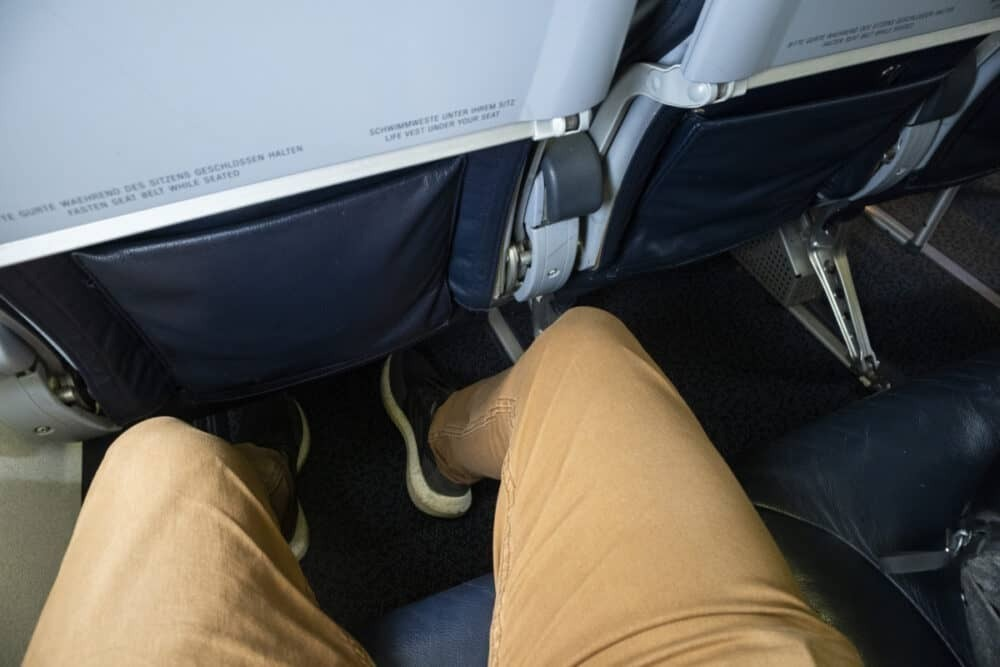 Flair Airlines legroom