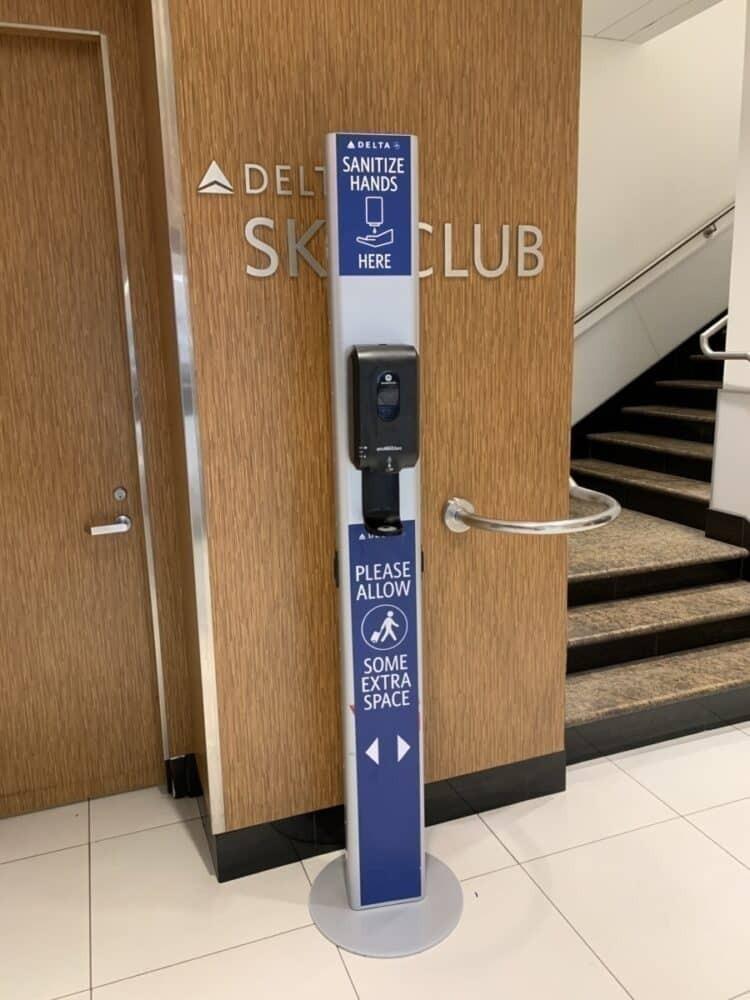 sky club sanitizing