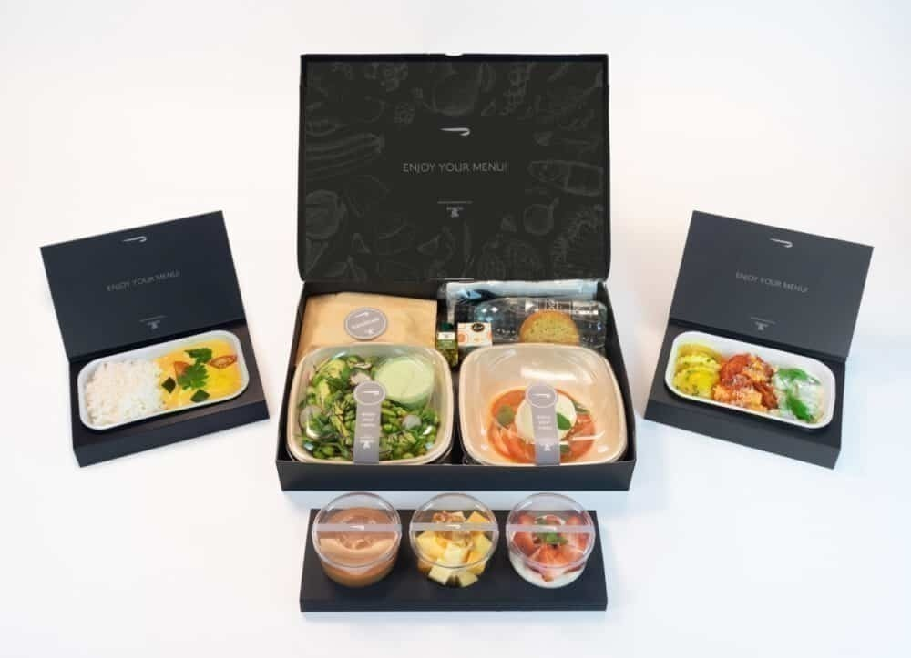British Airways, Meal Service, COVID