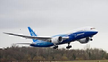 Boeing 787 first flight