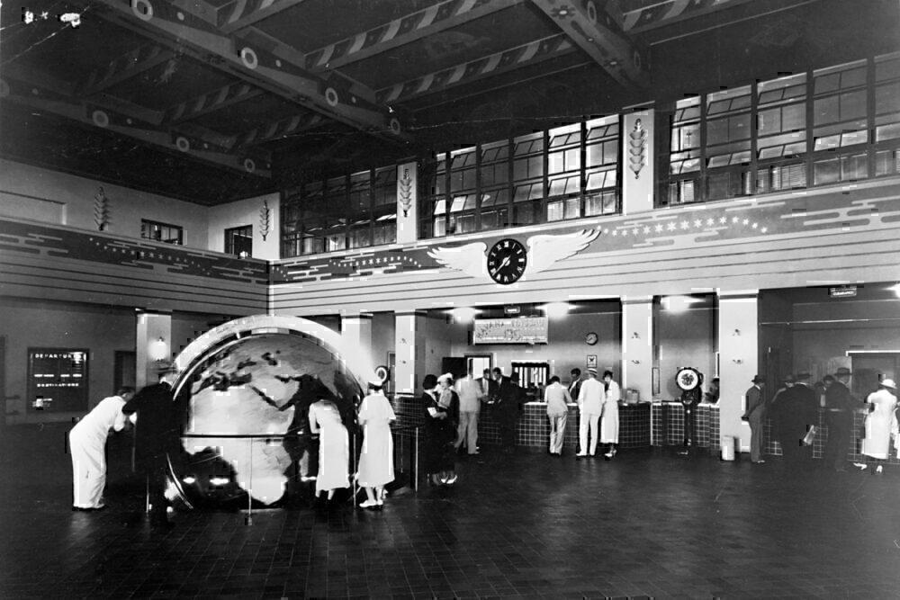 Pan Am Miami terminal