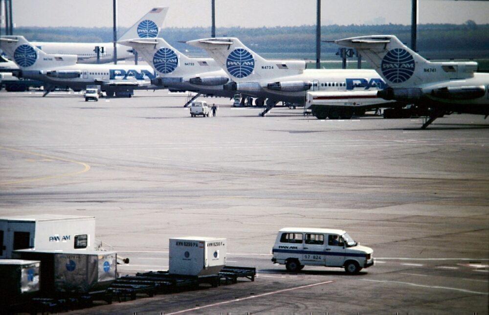 Pan Am in Frankfurt