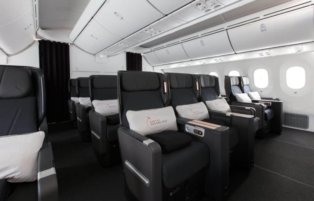 Premium economy Qantas