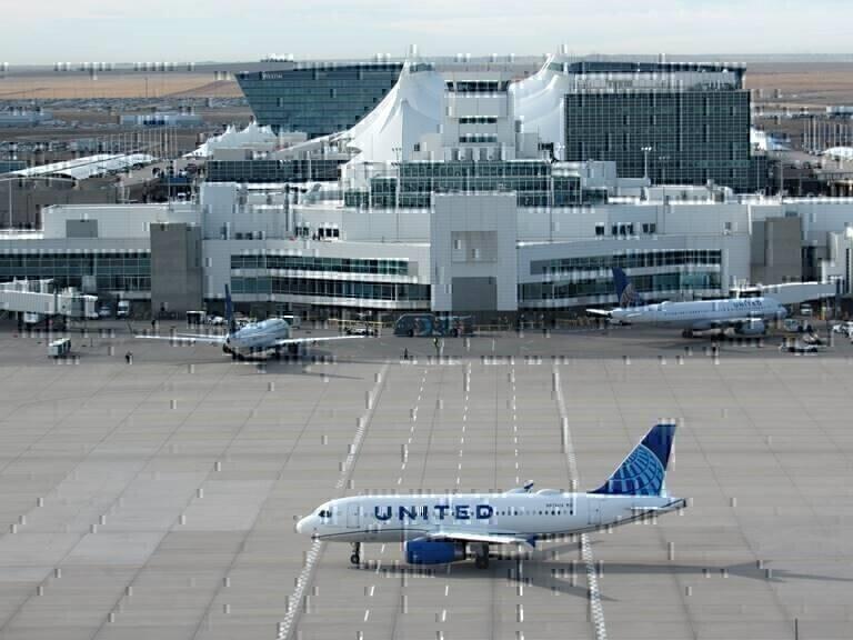 United plane Denver