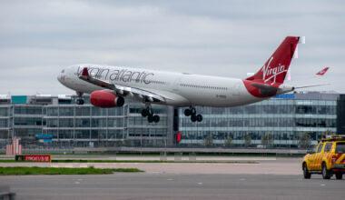 Virgin Atlantic take-off
