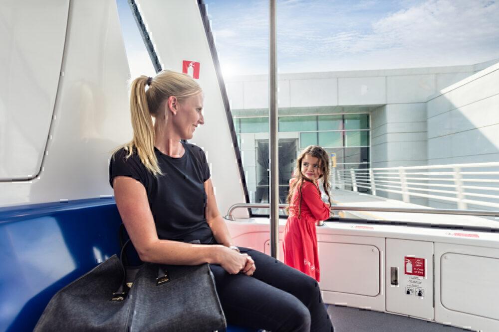 DXB Concourse train