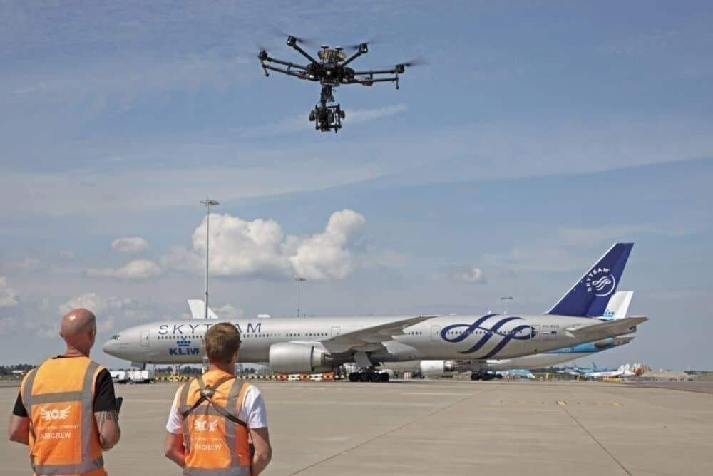 Schiphol Airport, Drone Trial, Drone Flights