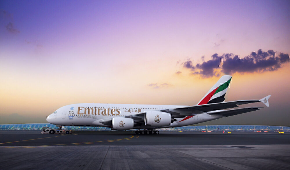 Emirates, Airbus A380, Monthly Flights
