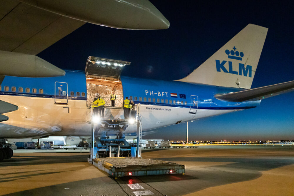 cargo-only KLM