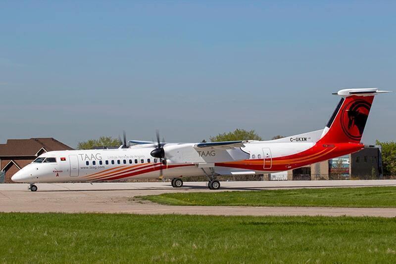 Dash 8-400 TAAG