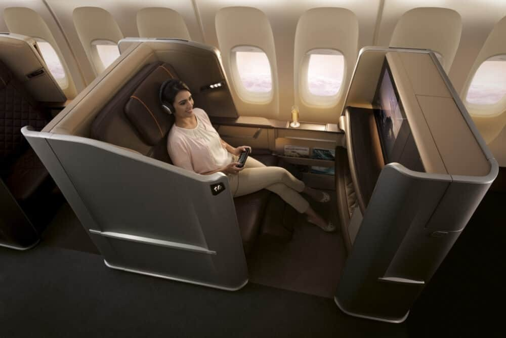 Singapore Airlines First on the 777
