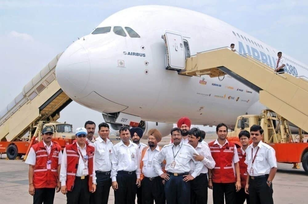 A380 India Kingfisher