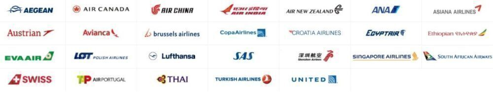 Star Alliance logos
