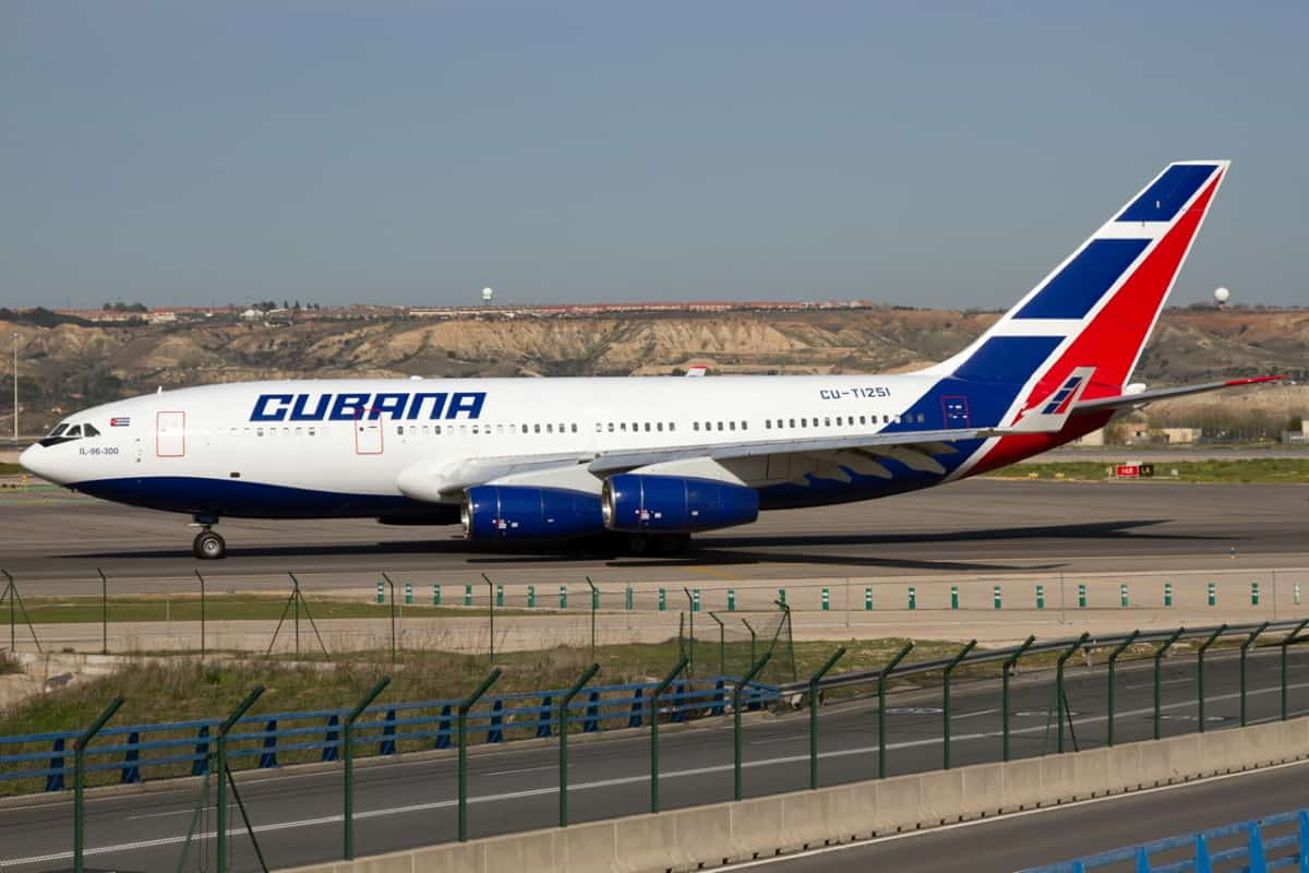 The Airline That Flies A Ilyushin Il 96 Directly Into Europe Meet Cubana Simple Flying