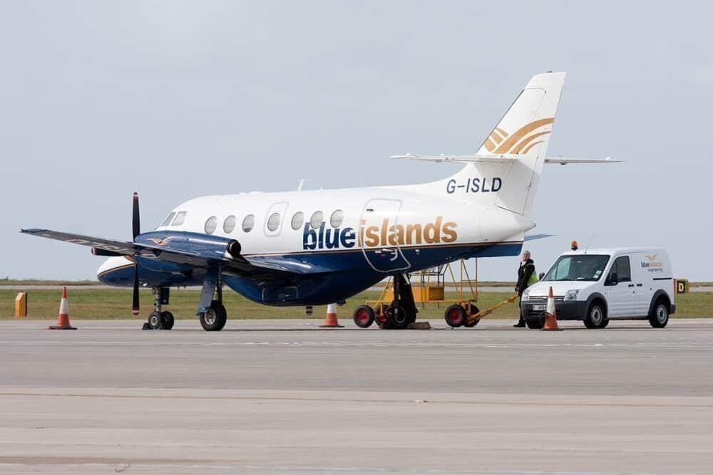 Blue Islands BAJ32