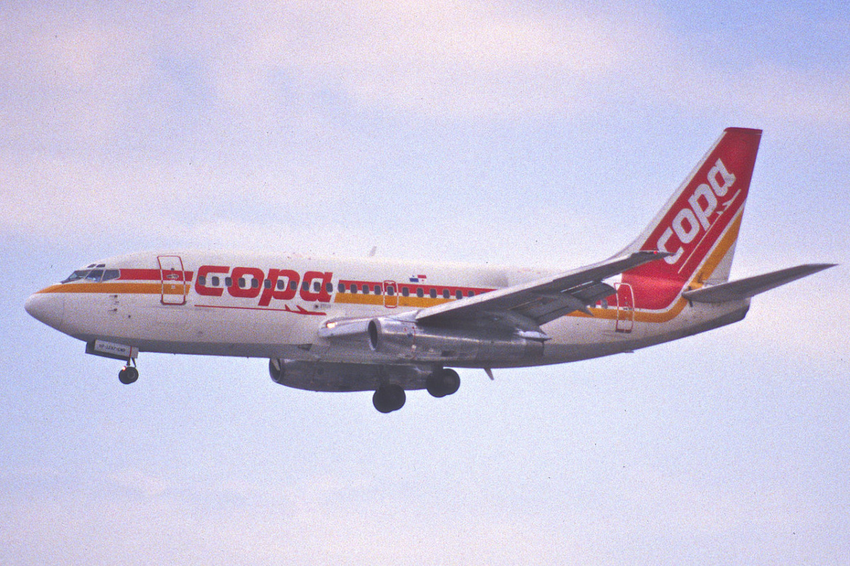 Copa Airlines in 1992