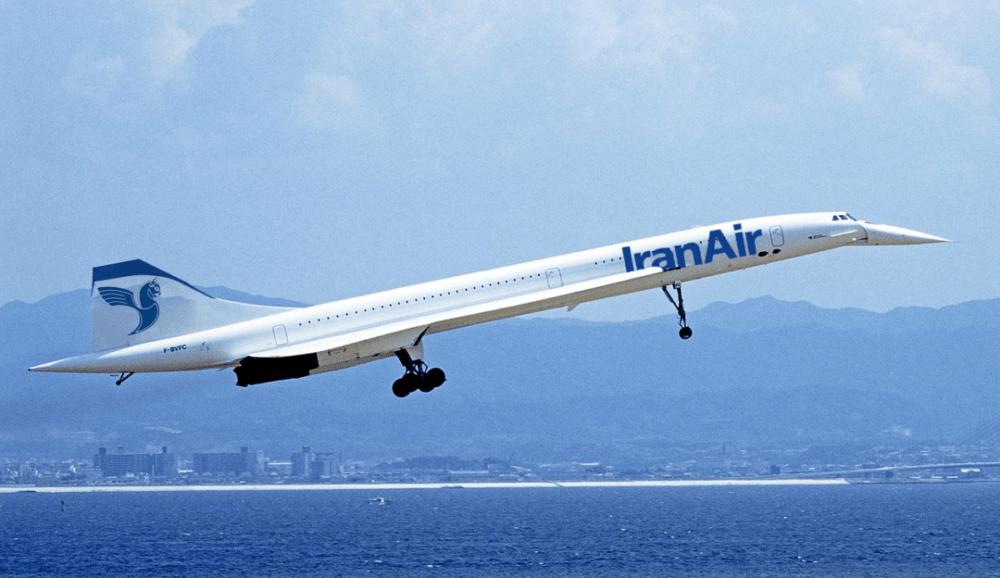 IranAir Concorde