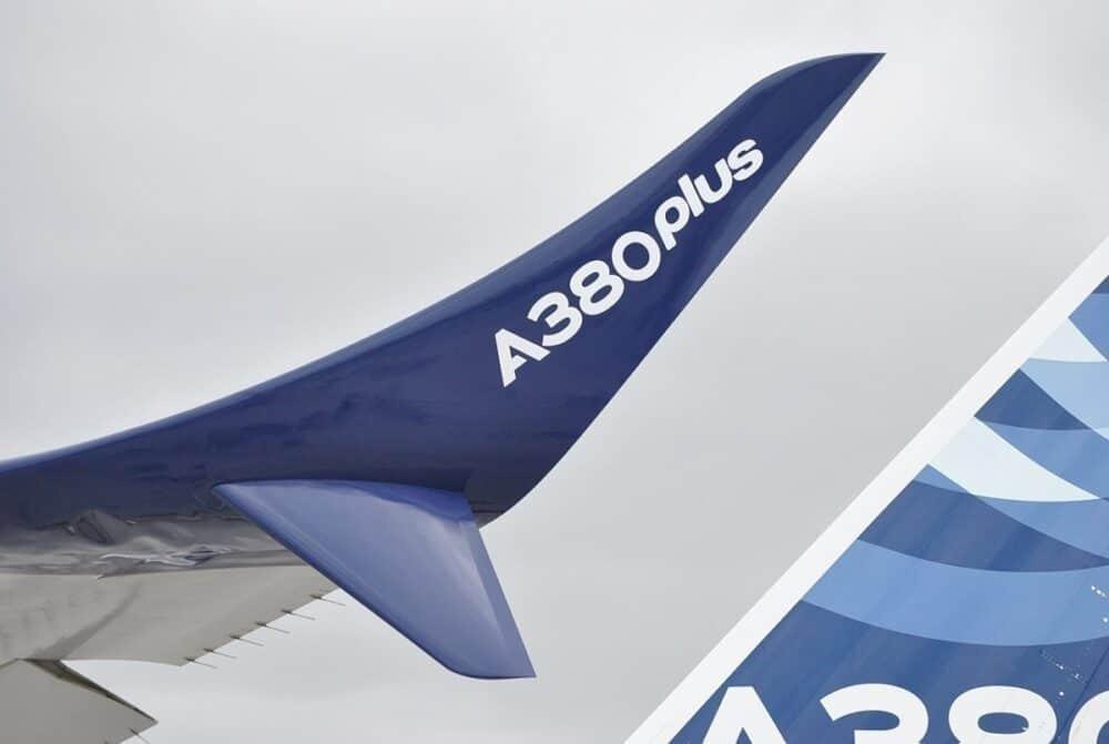 A380plus winglets
